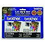 Brother Black Ink Cartridge - Inkjet - 500 Page - Black - 2 Pack