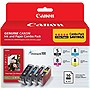 Canon 0628B027 Original Ink Cartridge - Black, Cyan, Magenta, Yellow - Inkjet