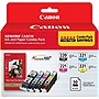 Canon 2945B011 Ink Cartridge - Black, Cyan, Magenta, Yellow - Inkjet