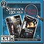 Sherlock Holmes Silver Earring &amp; Nemesis  Double Pack