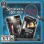 Sherlock Holmes Silver Earring & Nemesis Double Pack