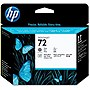 HP 72 Gray and Photo Black Printhead - Gray, Photo Black - Inkjet - 1 Each