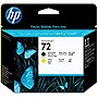 HP 72 Matte Black and Yellow Printhead - Matte Black, Yellow - Inkjet - 1 Each