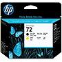 HP 72 Matte Black and Yellow Printhead - Matte Black, Yellow - Inkjet - 1 Each