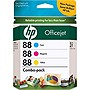 HP 88 Tri-colour Ink Cartridge - Cyan, Magenta, Yellow - Inkjet - 800, 1000, 860