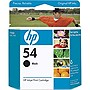 HP 54 Black Ink Cartridge - Black - Inkjet