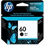 HP 60 Original Ink Cartridge - Single Pack - Inkjet - 200 Pages - Black - 1 Each