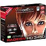 Visiontek 900302 Radeon 3450 512MB DDR2 PCI Graphic Card