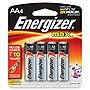 Energizer Multipurpose Battery - 1150 mAh - AA - Alkaline - 1.5 V DC - 4 / Pack