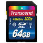 Transcend Ultimate TS64GSDXC10 64 GB Secure Digital Extended Capacity (SDXC) - Class 10 - 1 Card
