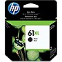 HP 61XL Ink Cartridge - Black - Inkjet - 480 Page - 1 Pack