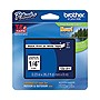 "Brother TZ Label Tape Cartridge - 0.25"" Width x 26 ft Length - White - 1 Each"
