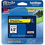 Brother+12mm+(0.47%22)+Black+on+Yellow+Tape+for+P-Touch%2c+8m