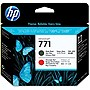 HP 771 Printhead - Matte Black, Red - Inkjet