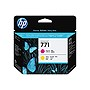 HP 771 Printhead - Magenta, Yellow - Inkjet