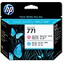 HP 771 Printhead - Cyan - Inkjet - 1 Each