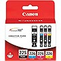 Canon 4530B008 Original Ink Cartridge - Black, Cyan, Magenta, Yellow (4 Pack)