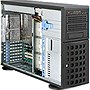 Supermicro SuperChassis 745TQ-R920B Chassis - Rack-mountable, Tower - Black - 4U - 11 x Bay - 5 x Fan(s) Installed - 2 x 920 W - ATX, EATX Motherboard Supported