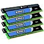 Corsair XMS 8GB (2x4GB) DDR3 SDRAM PC3-10666 240-Pin DIMM Memory Kit