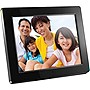 Aluratek ADMPF512F Digital Frame - 12&quot; LCD Digital Frame - Black - 800 x 600 - Cable - 16:9 - JPEG - Slideshow - Built-in 512 MB - Built-in Speaker - USB - Wall Mountable, Desktop