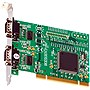 Brainboxes 2-port Serial PCI Adapter - 2 x 9-pin DB-9 RS-232 Serial PCI