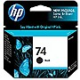 HP 74 Twin-pack Ink Cartridge - Black - Inkjet - 200 Page - 2 / Pack