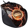 SteelSeries World of Warcraft MMO Legendary Edition Mouse - Optical - Cable - Black - USB - 3600 dpi - Scroll Wheel - 11 Button(s)