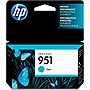HP 951 Ink Cartridge - Cyan - Inkjet - 1 Pack