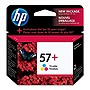 HP 57 Plus Tri-Color Ink Cartridge - Color - Inkjet - 400 Page