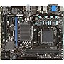 MSI 760GM-P23 (FX) Desktop Motherboard - AMD 760G Chipset - Socket AM3+ - Micro ATX - 1 x Processor Support - 16 GB DDR3 SDRAM Maximum RAM - CrossFire Support - Serial ATA/300 RAID Supported Controller - 1 x PCIe x16 Slot