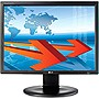 "LG Flatron N1910LZ-BF 19"" LED LCD Monitor - 4:3 - 5 ms - Adjustable Display Angle - 1280 x 1024 - 16.7 Million Colors - 250 Nit - 1,000:1 - DVI - VGA - USB - Black"
