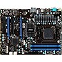 MSI 970A-G46 Desktop Motherboard - AMD 970 Chipset - Socket AM3+ - ATX - 1 x Processor Support - 32 GB DDR3 SDRAM Maximum RAM - SLI, CrossFireX Support - Serial ATA/600 RAID Supported Controller - 2 x PCIe x16 Slot - 2 x USB 3.0 Port