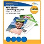 Royal Sovereign RF03MENU0100 Heat Sealed Laminating Pouch - Menu - Type G - Glossy - 100 / Pack - Clear