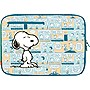 "iLuv Peanuts iBP2123 Carrying Case (Sleeve) for 15"" Notebook - Blue - Snoopy"