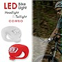 Camelion+Flex+LED+Bike+Light+Headlight+%26+Taillight+Combo