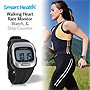 Smart Health Walking Heart Rate Monitor, Watch & Step Counter All-in-one - EZ4U702 (Unisex)