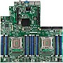 Intel Essential S2600GZ Server Motherboard - Intel C602 Chipset - Socket R LGA-2011 - 2 x Processor Support - 768 GB DDR3 SDRAM Maximum RAM - Serial ATA/300, Serial ATA/600 RAID Supported Controller - CPU Dependent Video