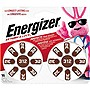 Energizer EZ Turn & Lock Size 312 - 312 - Zinc Air - 16 Pack