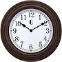 WALL CLOCK 11IN PLASTIC