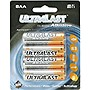 NABC UltraLast ULA8AA AA Size General Purpose Battery - Alkaline - 1.5V DC