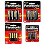 Panasonic 16 AA, 8 AAA, and 2 9V  Alkaline Plus Batteries