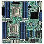 Intel S2600CP4 Server Motherboard - Intel C600-A Chipset - Socket R LGA-2011 - 5 Pack - SSI EEB - 2 x Processor Support - 500 GB DDR3 SDRAM Maximum RAM - Serial ATA/300, Serial ATA/600, Serial Attached SCSI (SAS) RAID Supported Controller - On-board Video