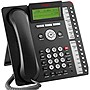 Avaya-IMBuyback 1416 Standard Phone - Black - Corded - 1 x Phone Line - Speakerphone - Backlight