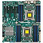 Supermicro X9DAi Server Motherboard - Intel C602 Chipset - Socket R LGA-2011 - 1 x Retail Pack - Extended ATX - 2 x Processor Support - 512 GB DDR3 SDRAM Maximum RAM - Serial ATA/600, Serial ATA/300 RAID Supported Controller - 3 x PCIe x16 Slot - 2 x USB