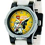 LEGO Kids' Star Wars Storm Trooper Minifigure Link Watch