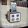 GrooveBox+Retro+Radio%2c+iPod%2c+iPhone+and+MP3+Speaker+-+IF-C0006