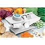 Infinite 3-in-1 Salad Slicer Mandoline for Professional Fruit and Vegetable Slices