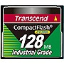 Transcend CF200I 128 MB CompactFlash (CF) Card - 56 MBps Read - 38 MBps Write - 1 Card