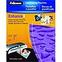 Fellowes Letter Size Glossy SuperQuick 3 Mils Laminating Pouches - 100 Pack