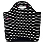 Built+NY+Neoprene+Everyday+Tote+-+Black+%26+White+Mini+Dot